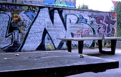 Graffiti Table Poster