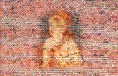 Graffiti Wall Painting Renoir Was Here 1876  Poster by Pod Artist