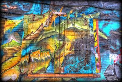 Grafiti Window Poster