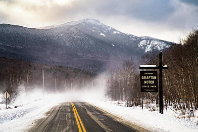 Grafton Notch State Park Poster by Benjamin Williamson