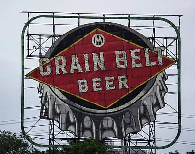 Grain Belt Beer Poster by Art Spectrum
