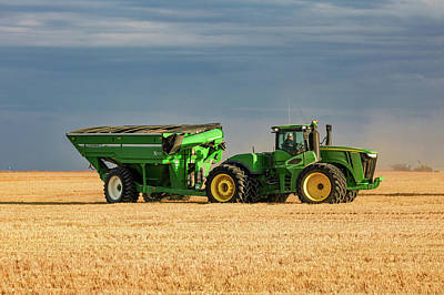 Grain Cart Poster by Todd Klassy
