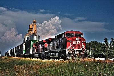Grain Train Poster