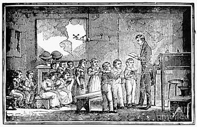 Grammar School, 1790s Poster