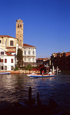 Grand Canal From Riva De Biasio Poster
