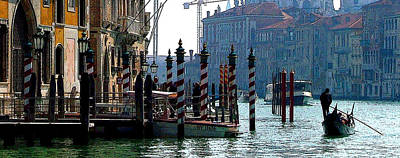 Grand Canal Of Venice Poster by Mindy Newman