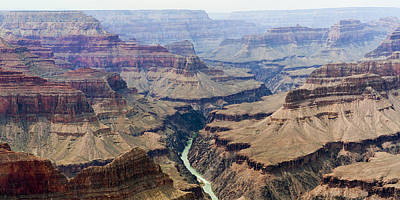 Grand Canyon And Colorado River 3 Of 5 Poster