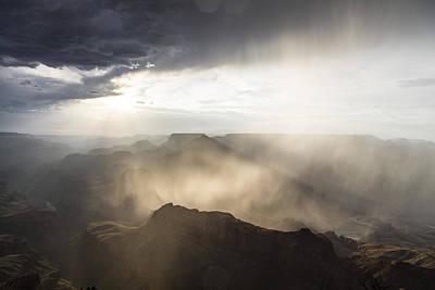 Grand Canyon Glow Poster by John McGraw