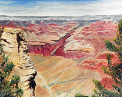 Grand Canyon Overlook Poster
