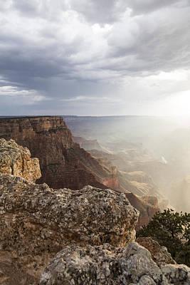 Grand Canyon Sunset Glow Poster by John McGraw