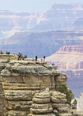 Poster featuring the photograph Grand Canyon Vista by Chris Dutton