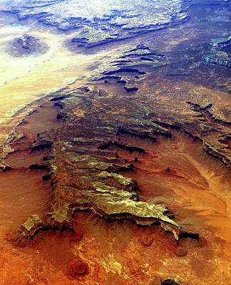 Grand Canyon01 From 6mi Up Poster by Irma BACKELANT GALLERIES