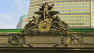 Grand Central Entrance Poster by Steven Lapkin