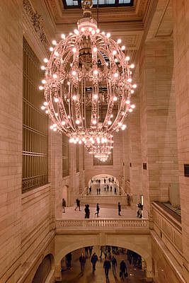 Grand Central Passageways Poster by Steve Rosenbach