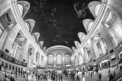 Poster featuring the photograph Grand Central Station by Mitch Cat