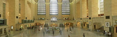 Grand Central Station New York Ny Poster by Panoramic Images