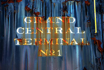 Poster featuring the photograph Grand Central Terminal No 1 by Karol Livote