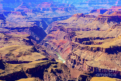 Grand Haze Canyon Poster