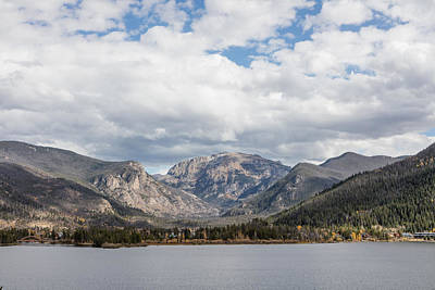 Grand Lake -- Largest Body Of Water In Colorado Poster by Carol M Highsmith