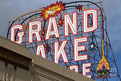 Grand Lake Theatre . Oakland California . 7d13495 Poster