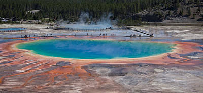 Grand Prismatic Spring Poster by Ralf Kaiser