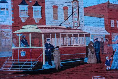 Grand Streetcar Poster by Tikvah's Hope