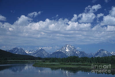 Grand Tetons In Spring Poster