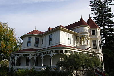 Grand Victorian Mansion  Poster