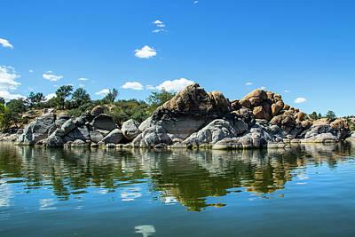 Granite Dells At Watson Lake Poster by Amy Sorvillo
