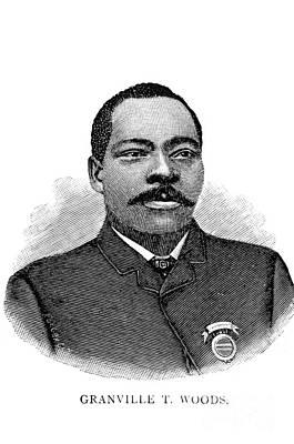 Granville Woods, American Inventor Poster