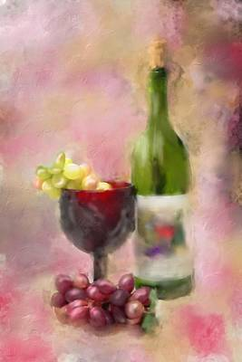 Grape Essence Poster by Mary Timman