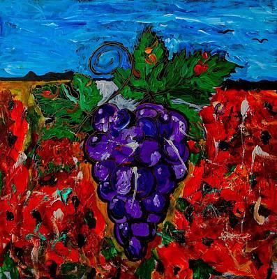 Grape Jazz Poster