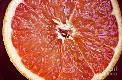Grapefruit Half Poster by Ray Laskowitz - Printscapes