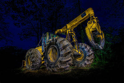 Grapple Skidder Poster