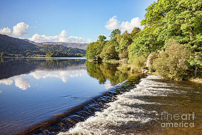 Poster featuring the photograph Grasmere, Lake District National Park by Colin and Linda McKie
