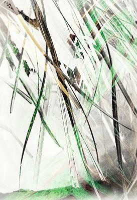 Grasses Poster by Gerlinde Keating - Galleria GK Keating Associates Inc