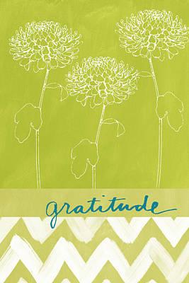 Gratitude Poster by Linda Woods