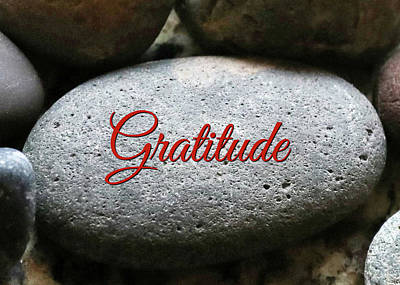 Gratitude Poster by Stephanie Laird