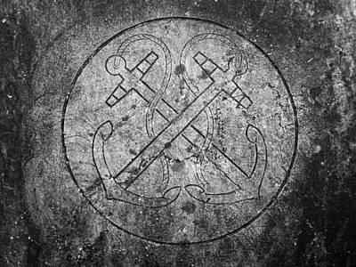 Grave Of Cadet Soady Macroom Ireland Poster