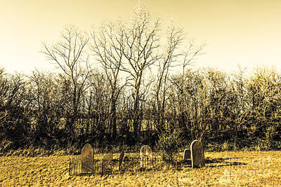 Graves From Past Lives Poster by Jorgo Photography - Wall Art Gallery