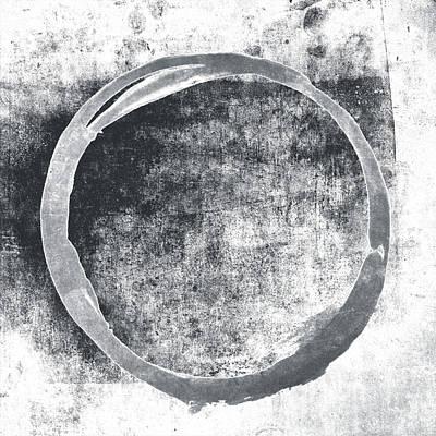 Gray Enso Poster