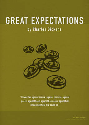 Great Expectations By Charles Dickens Greatest Books Ever Series 023 Poster
