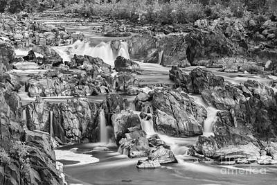 Great Falls Park Poster by Henk Meijer Photography