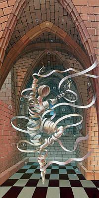 Great Ghost Of Caesarea Poster
