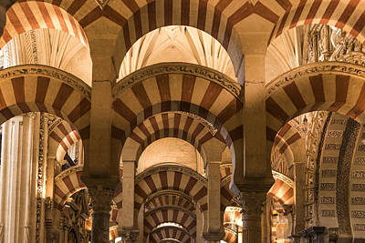 Great Mosque Of Cordoba - Cordoba Spain Poster by Jon Berghoff