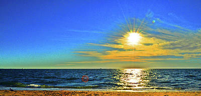 Great Point Nantucket Sound Large Format Poster by Duncan Pearson