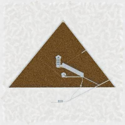 Great Pyramid By Pierre Blanchard Poster by Pierre Blanchard