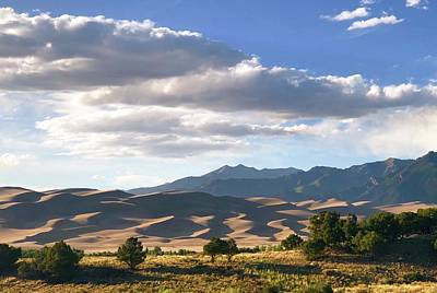 Great Sand Dunes At Dusk Poster