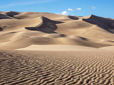 Great Sand Dunes National Park In Colorado Poster