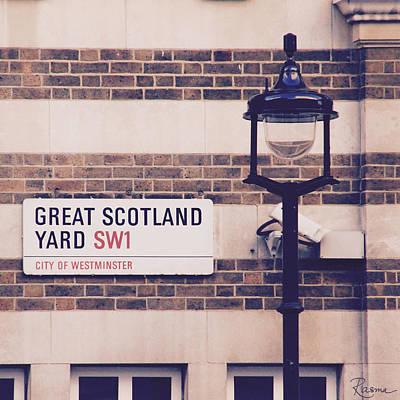 Great Scotland Yard Poster